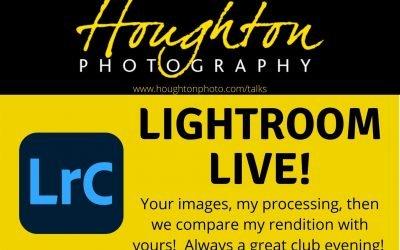 Lightroom Live!  –  A talk by Joe Houghton