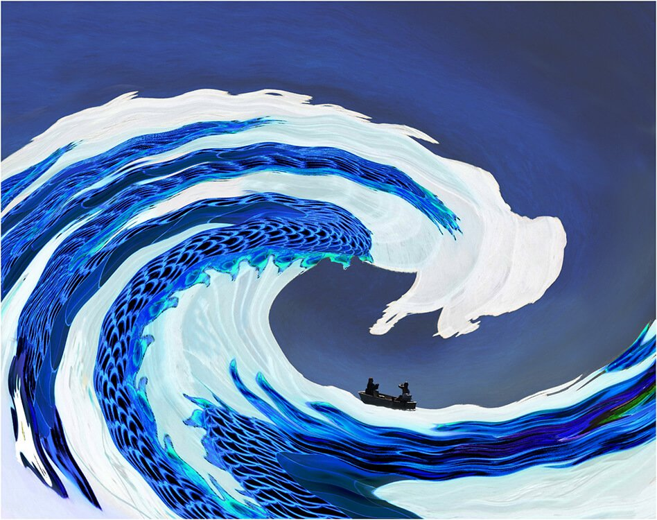 Photocraft Camera Club - A Monster Wave by Dave S