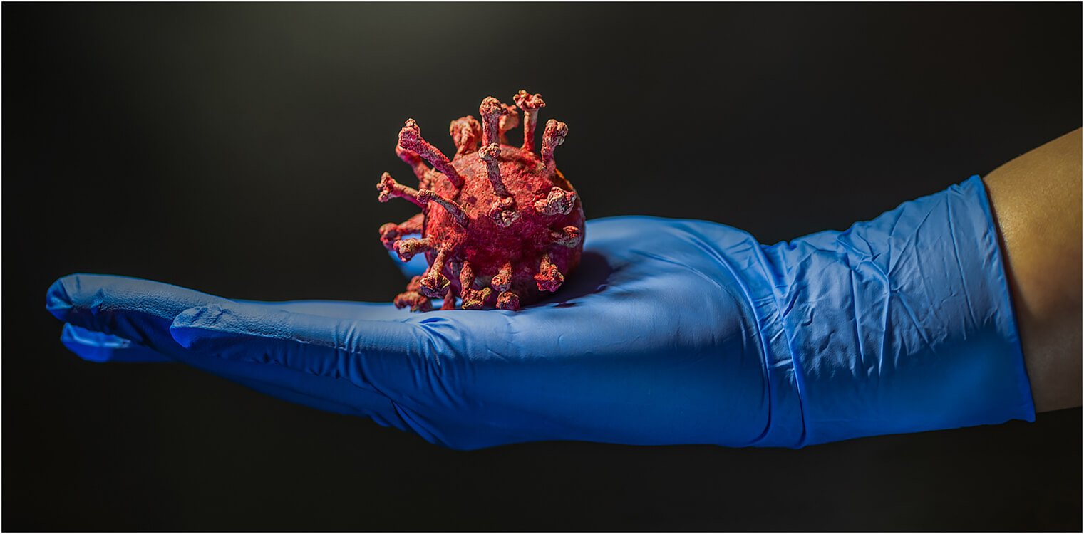 Photocraft Camera Club - Coronavirus model by Roshan R
