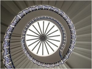 Photocraft Camera Club - Tulip Stairs, Greenwich by Philip R