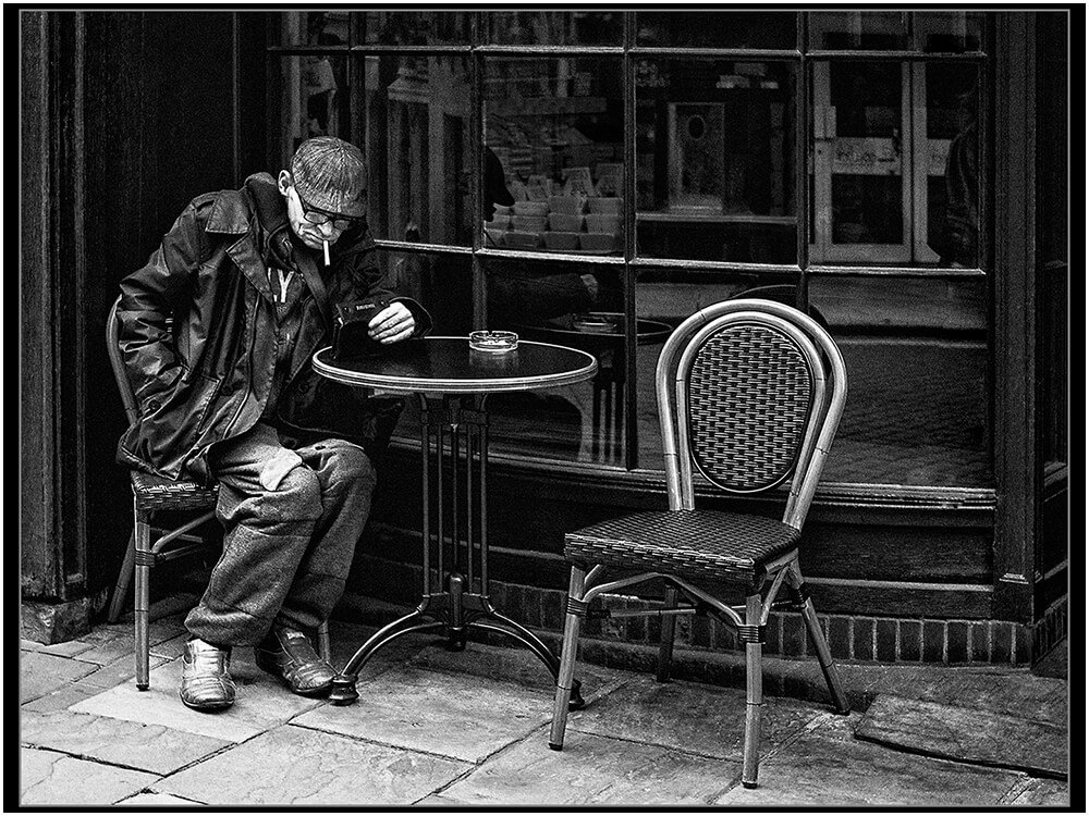 Photocraft Camera Club - The Empty Chair by David H